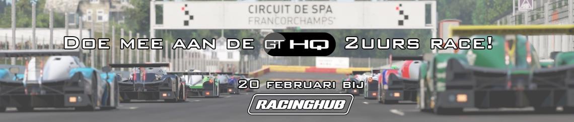GTHQ 2u race bij RacingHub