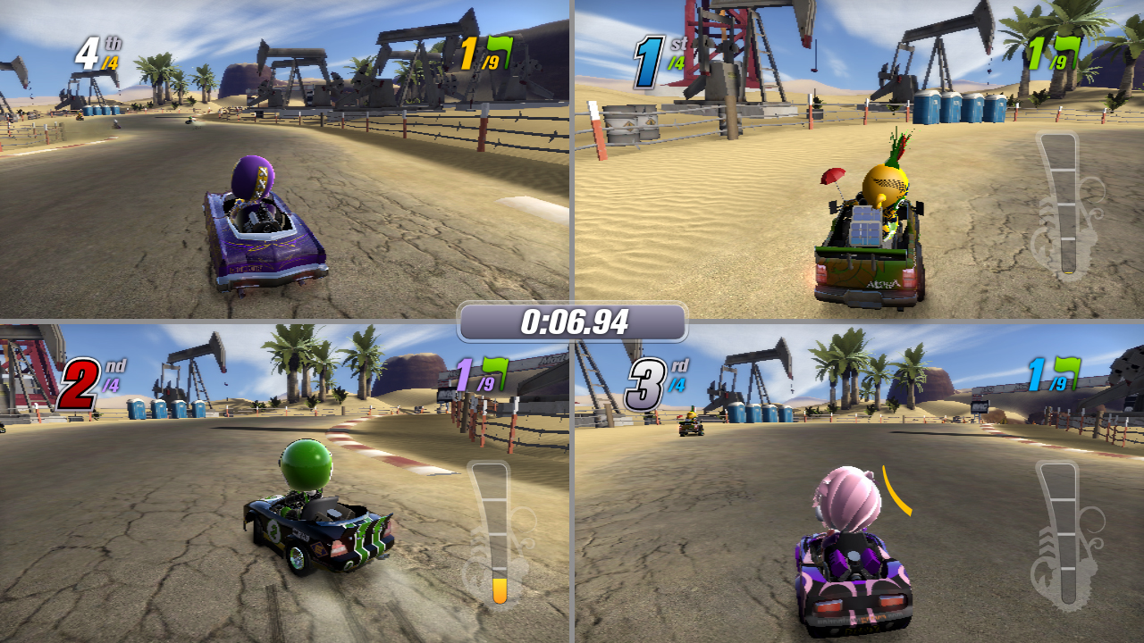 Mod Nation Racers Multiplayer 4player