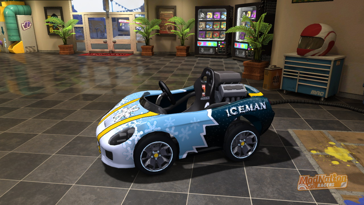 Mod Nation Racers Kart screenshot
